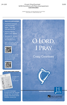 Product Cover for O Lord, I Pray