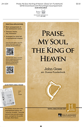 Product Cover for Praise, My Soul, the King of Heaven