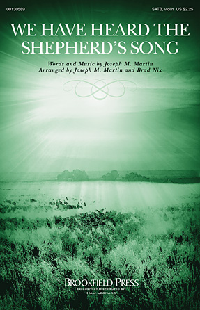 Product Cover for We Have Heard the Shepherd's Song