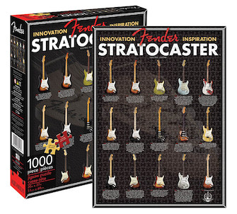 Product Cover for Fender Stratocaster – 1000-Piece Jigsaw Puzzle