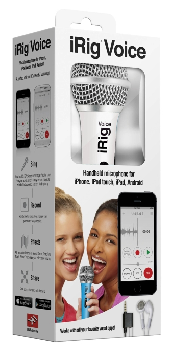 Product Cover for iRig Voice Mic