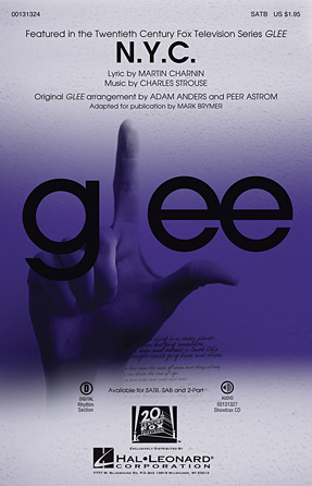 N.Y.C. : SATB : Mark Brymer : Charles Strouse  : Annie : Sheet Music : 00131324 : 888680024765