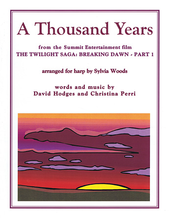 Product Cover for A Thousand Years from The Twilight Saga: Breaking Dawn, Part 1