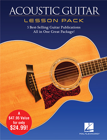 Product Cover for Acoustic Guitar Lesson Pack