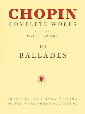 Product Cover for Ballades