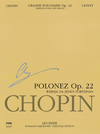 Product Cover for Grande Polonaise in E Flat Major Op. 22 for Piano and Orchestra