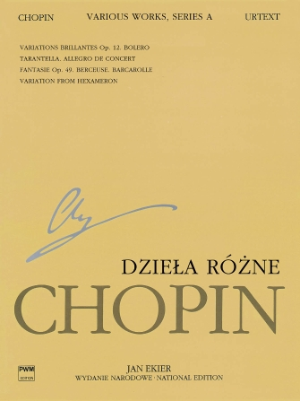 Product Cover for Various Works for Piano, Series A