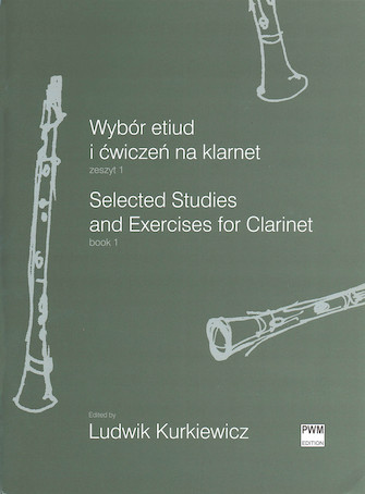 Selected Studies and Exercises for Clarinet, Book 1