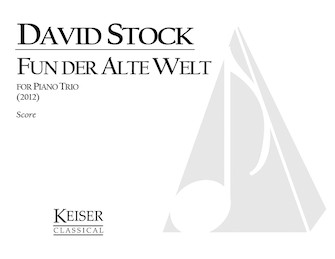 Product Cover for Fun Der Alte Welt (From the Old World) - Piano Trio Full Score