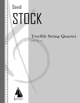 Product Cover for String Quartet No. 12 - Full Score