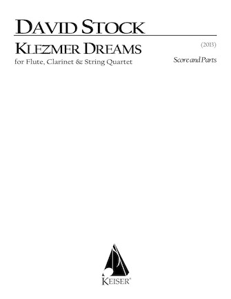 Product Cover for Klezmer Dreams for Flute, Clarinet and String Quartet - Full Sc