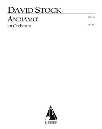 Product Cover for Andiamo for Orchestra - Full Score
