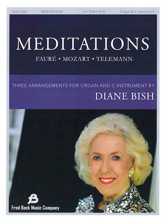 Product Cover for Meditations – Three Pieces for Organ and Solo C Instrument
