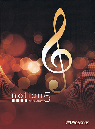 Product Cover for Notion™ 5 by PreSonus®