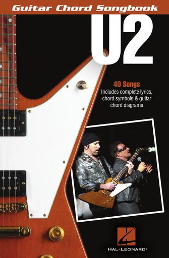 Product Cover for U2 – Guitar Chord Songbook