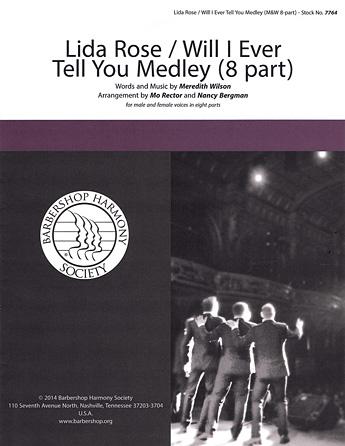 Lida Rose / Will I Ever Tell You? Medley : TTTTBBBB : Nancy Bergman : Sheet Music : 00137952 : 812817020252