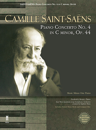 Product Cover for Camille Saint-Saëns – Piano Concerto No. 4 in C Minor, Op. 44