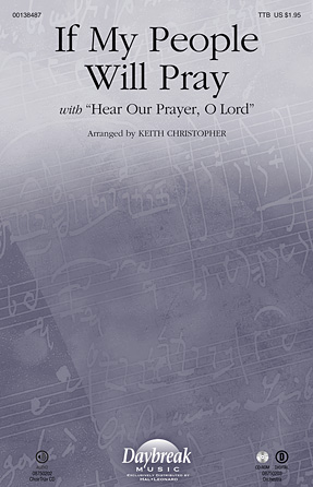 If My People Will Pray : TTB : Keith Christopher : Sheet Music : 00138487 : 888680031510
