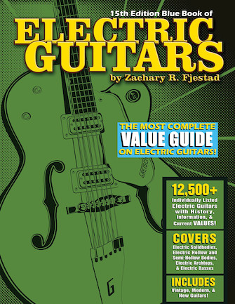 Blue Book of Electric Guitars – 15th Edition