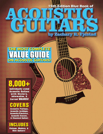 Product Cover for Blue Book of Acoustic Guitars – 15th Edition