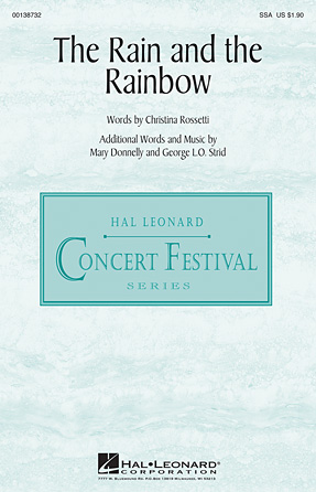 The Rain and the Rainbow : SSA : Mary Donnelly : Mary Donnelly : Sheet Music : 00138732 : 888680032869