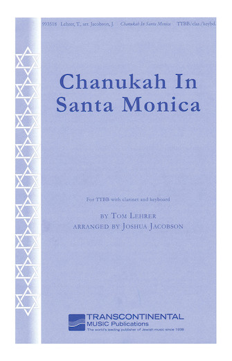 Product Cover for Chanukah in Santa Monica