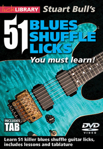 Stuart Bull's 51 Blues Shuffle Licks You Must Learn!