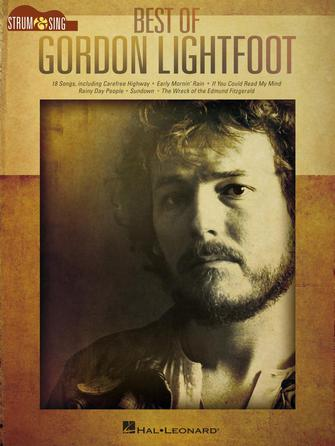 Product Cover for Best of Gordon Lightfoot - Strum & Sing Guitar