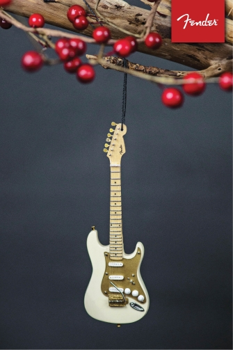 Product Cover for Fender '50s Cream Strat – 6″ Holiday Ornament