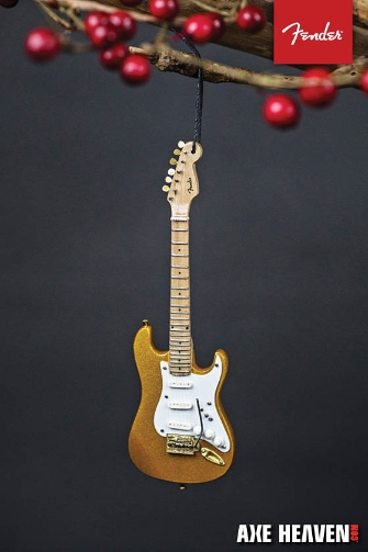 Product Cover for Fender Gold '50s Strat – 6″ Holiday Ornament