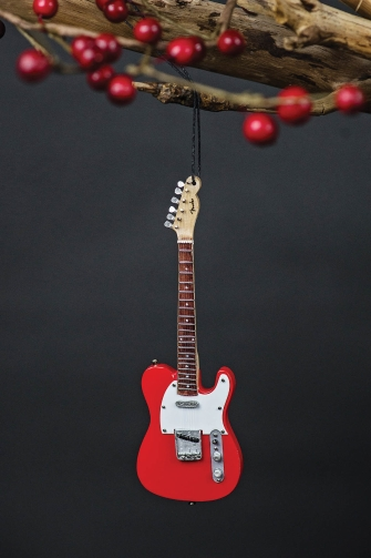 Fender '50s Red Telecaster – 6″ Holiday Ornament