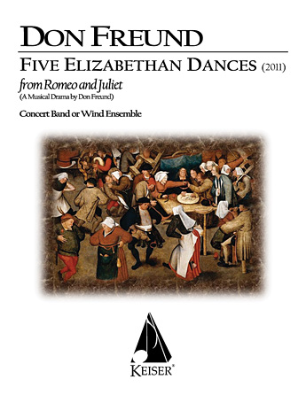 Product Cover for Five Elizabethan Dances from 'Romeo & Juliet'