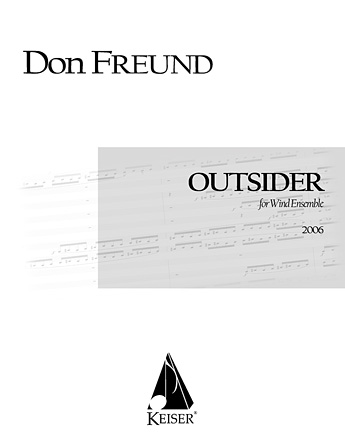 Product Cover for Outsider for Wind Ensemble