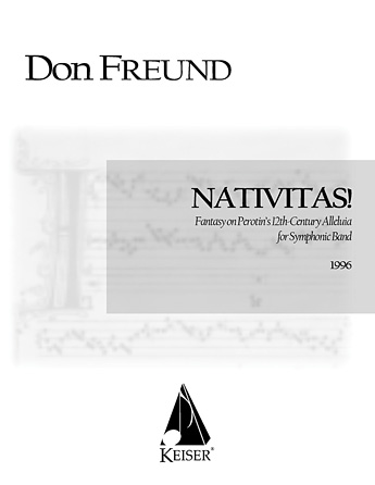 Product Cover for Nativitas!: Fantasy on Perotin's 12th Century Alleluia