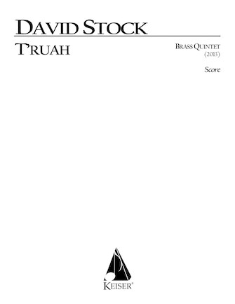 Product Cover for T'ruah for Brass Quintet