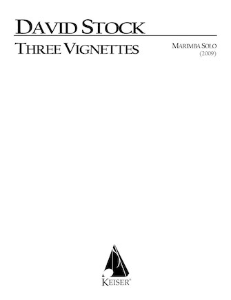 Product Cover for Three Vignettes for Solo Marimba