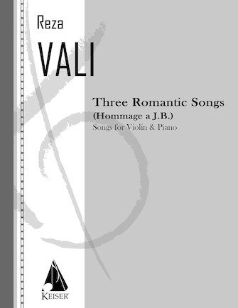 Product Cover for Three Romantic Songs for Violin and Piano