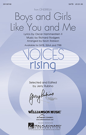 Boys and Girls Like You and Me : SATB : Kevin Robison : Richard Rodgers : Cinderella : 00139748 : 888680039042