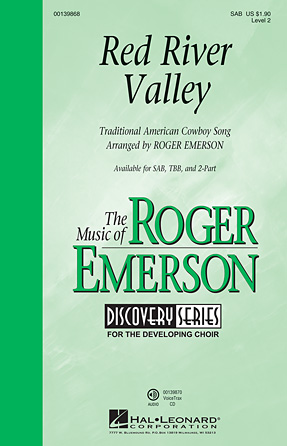 Red River Valley : SAB : Roger Emerson : Sheet Music : 00139868 : 888680039691