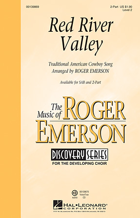 Red River Valley : 2-Part : Roger Emerson : Sheet Music : 00139869 : 888680039707