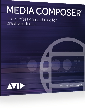 Product Cover for Media Composer 8 Software
