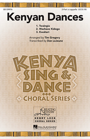 Product Cover for Kenyan Dances