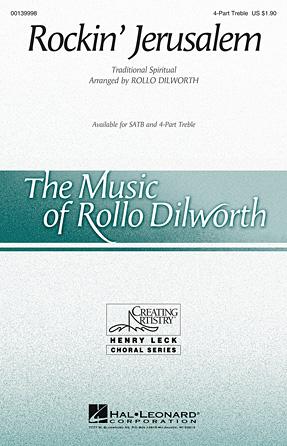 Rockin' Jerusalem : SSAA : Rollo Dilworth : Sheet Music : 00139998 : 888680040543