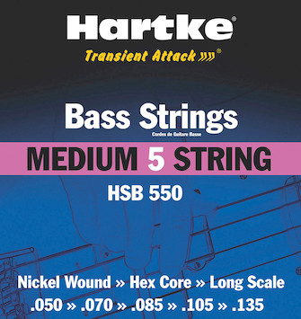 Product Cover for Hartke Transient Attack Bass Strings