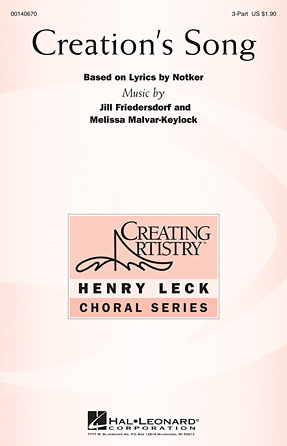 Product Cover for Creation's Song