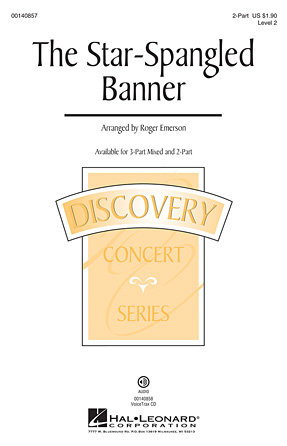 The Star-Spangled Banner : 2-Part : Roger Emerson : Francis Scott Key : Sheet Music : 00140857 : 888680041281
