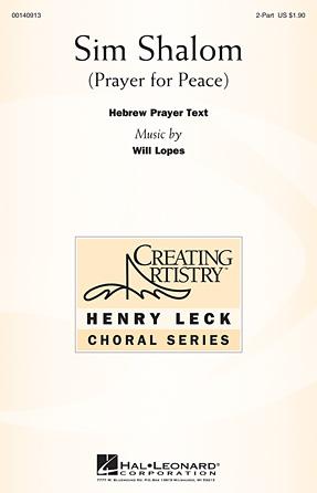 Product Cover for Sim Shalom (Prayer for Peace)