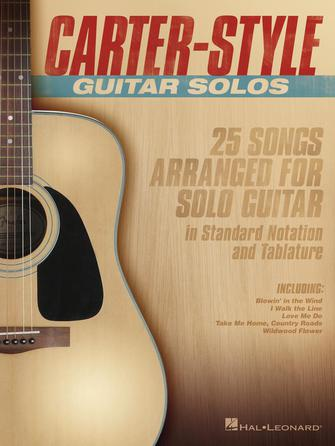 Product Cover for Carter-Style Guitar Solos