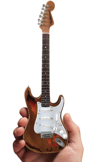 Product Cover for Fender™ Stratocaster™ – Aged Sunburst Distressed Finish
