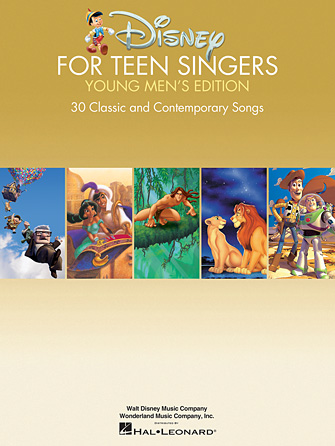 Product Cover for Disney for Teen Singers – Young Men's Edition